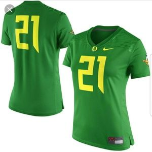 NWT Nike Oregon Ducks game day jersey